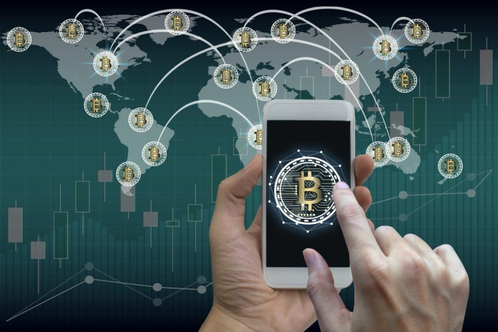 block chain & business social media marketing