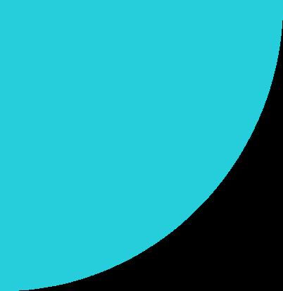 Half a circle design item