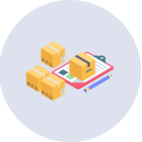 boxes isometric illustration