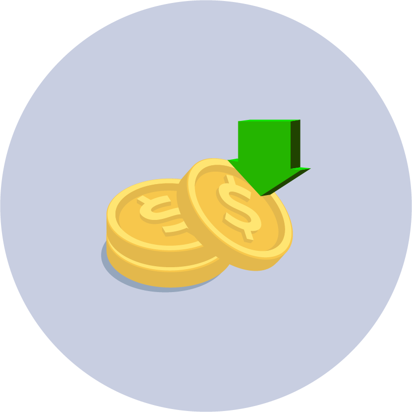 cost-effective icon